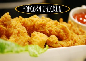 KFC Style Chicken Popcorn Recipe