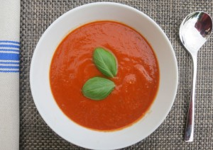 Roasted Tomato Soup Recipe