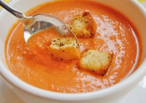 Tangy and Sweet Carrot Tomato Soup Recipe