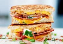 Aloo Masala Grilled Sandwich