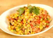 American Sweet Corn Salad Recipe