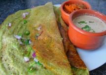 Andhra Style Pesarattu Recipe