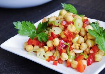 Healthy and tasty Chickpea Salad Recipe