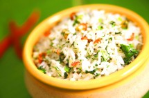 Easy and Tasty Coriander Rice Recipe