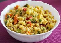 Dalia (Broken wheat) Recipe - High Fiber Food