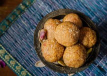 Easy Kaju Badam Ladoo Recipe
