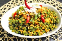 Tasty French Beans and Chana Dal Stir Fry Recipe
