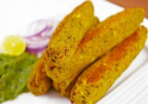 Hariyali Seekh Kebab Recipe