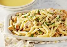 Healthy Lemony Chicken Pasta Recipe