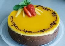 Mango Truffle Cake Recipe