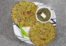 Methi Makai Maize Roti Recipe