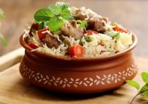 Mughlai Mutton Pulao Recipe