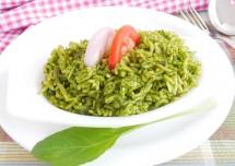 Palak Fried Rice