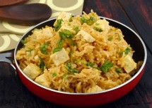 Easy and Tasty Paneer Matar Biryani Recipe
