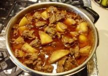 Delicious Potato Mutton Curry Recipe