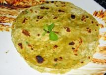Pudina/Mint Paratha Recipe