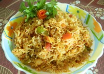 Quick Tomato Biriyani Recipe