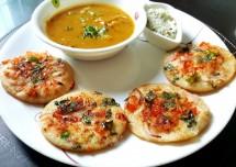 Vegetable Ragi and Oats Uttapam Recipe