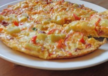Delicious Spanish Omlette Snack Preparation