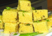 Spongy Moong Dal Dhokla Recipe