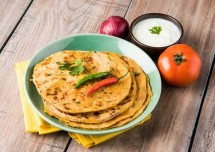Tasty and Easy Stuffed Soya Paratha Recipe