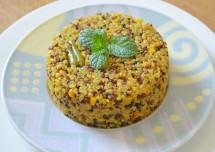 Healthy Vegetable Quinoa Upma Recipe