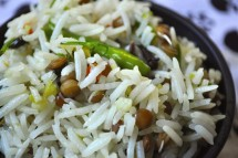 Pulao with Sprouts recipe
