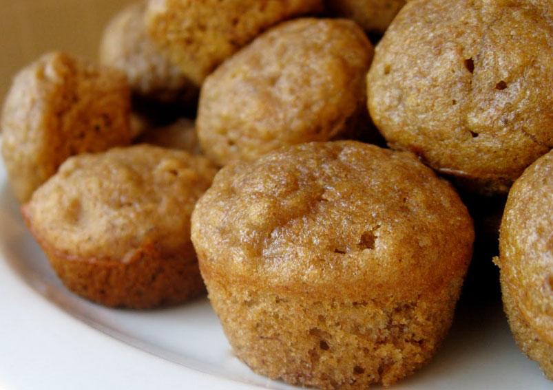 Christmas Special Banana Muffins Recipe