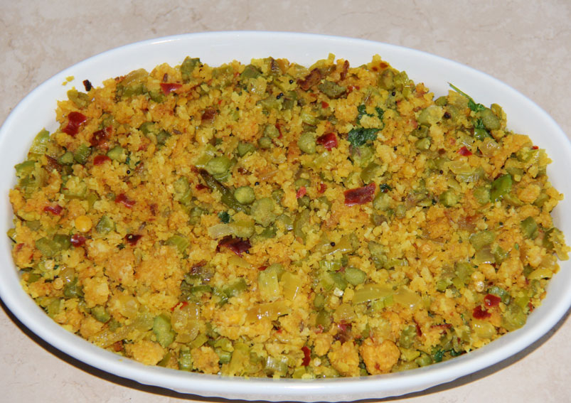 Tasty Beans Paruppu Usili Recipe