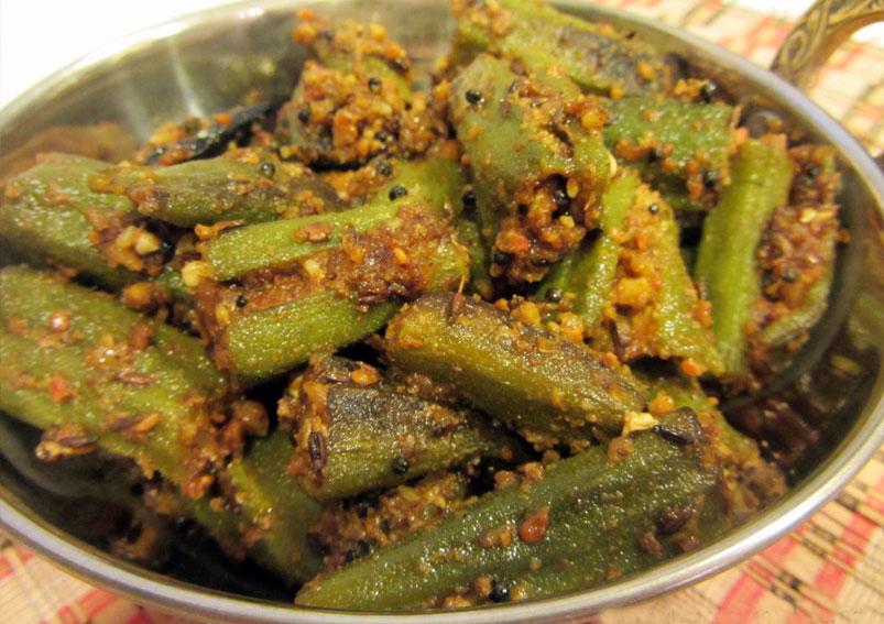 Punjabi Bhindi Masala Fry Recipe