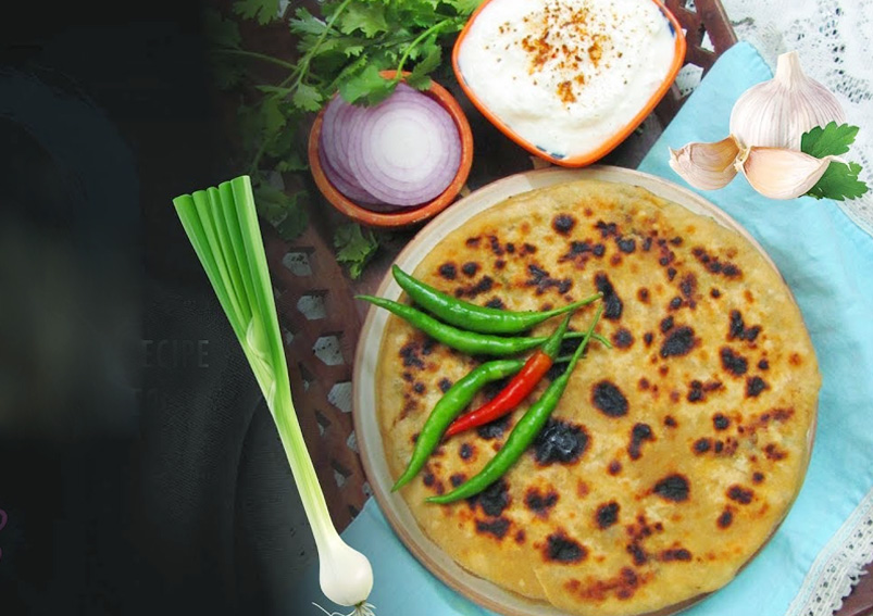 Healthy Cabbage and Paneer Paratha Recipe