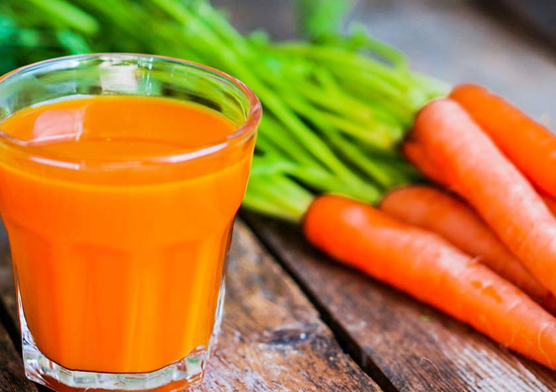 Healthy Carrot Juice Recipe