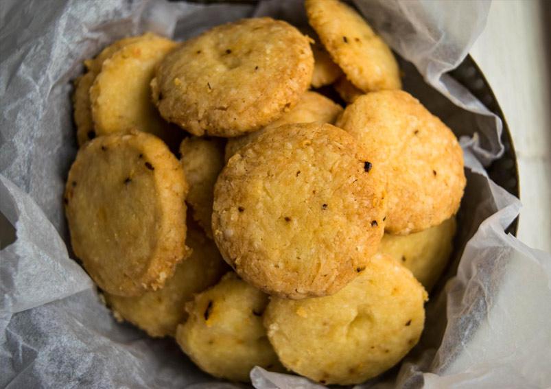 Cheesy Cheese Cookies Recipe