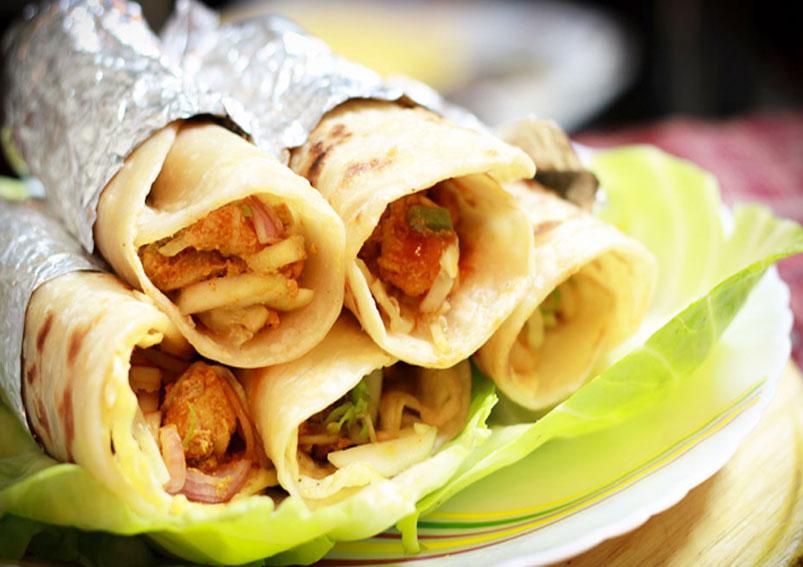 Tasty Chicken Roll Recipe