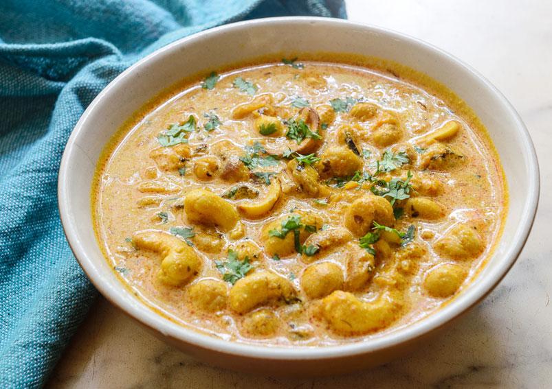 Creamy Kaju Curry Recipe