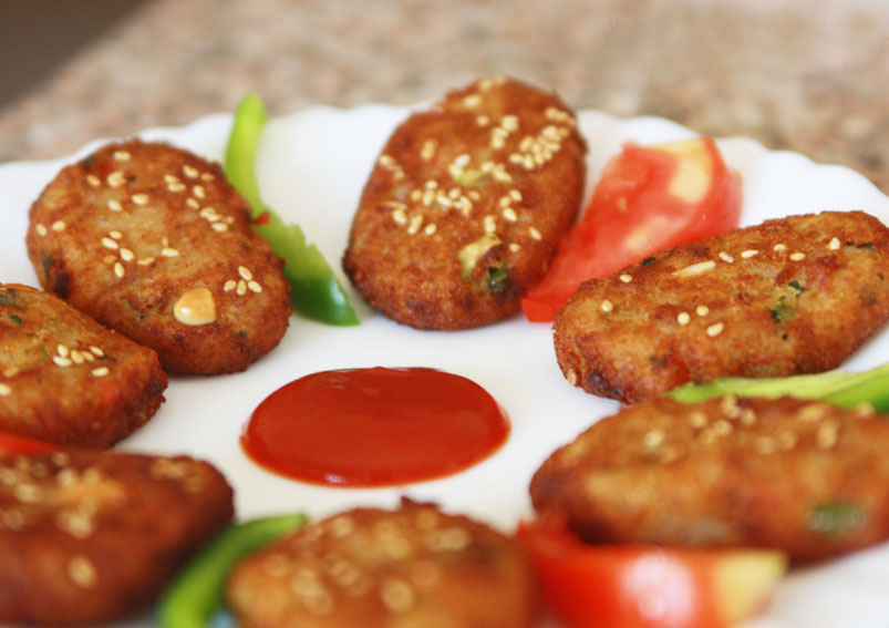 Crispy Potato Bread Cutlet Recipe