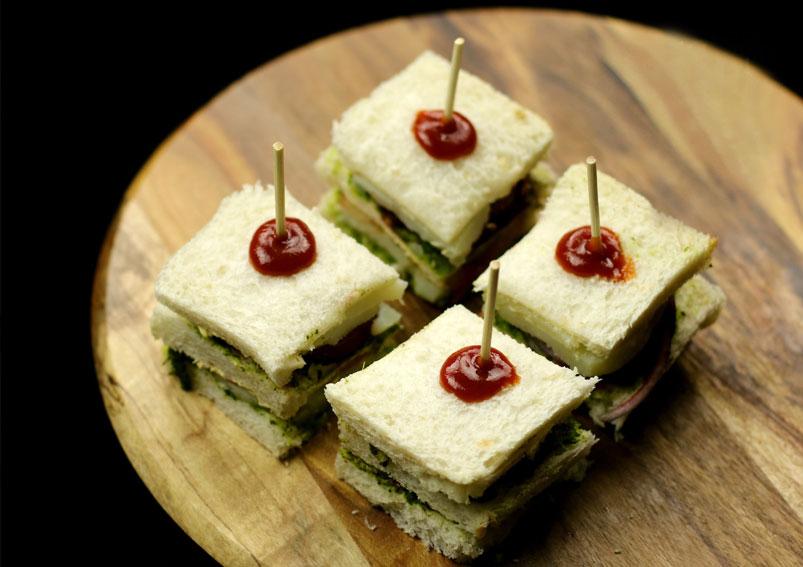 Cucumber Cottage Cheese Sandwich Recipe