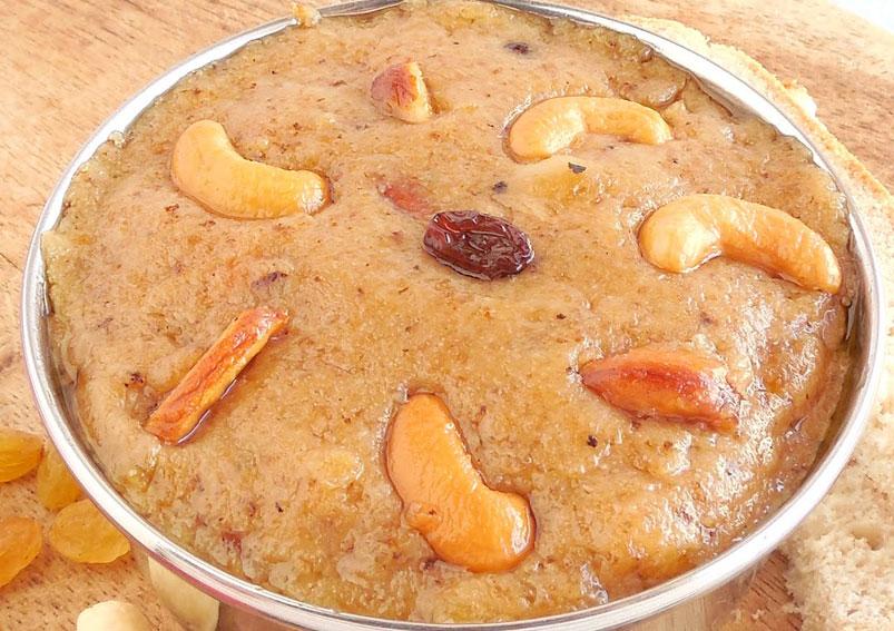 Delicious Bread Halwa Recipe