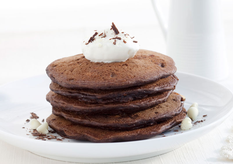 Easy Chocolate Pancake Recipe