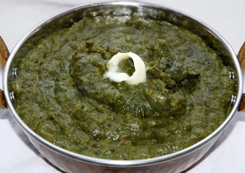 Easy Sarason Ki Saag Recipe