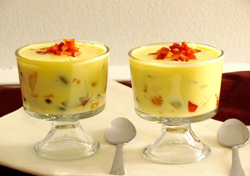 Healthy Fruit Custard Recipe