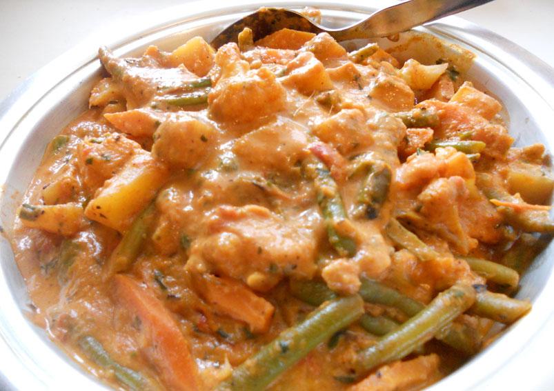 Goan Vegetable Curry Recipe