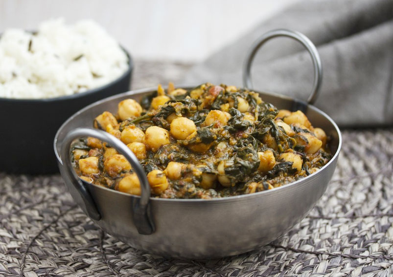 How to Make Palak Chole Recipe
