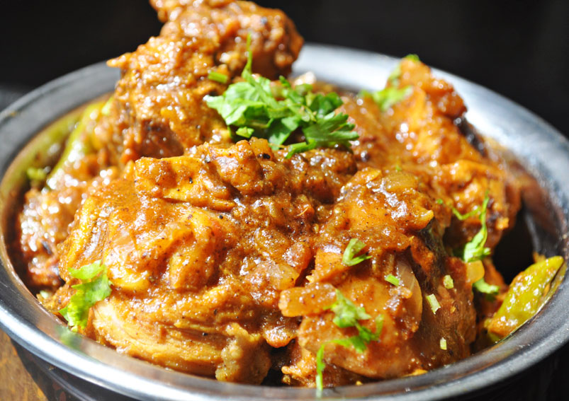 Indian Kadai Masala Chicken Recipe