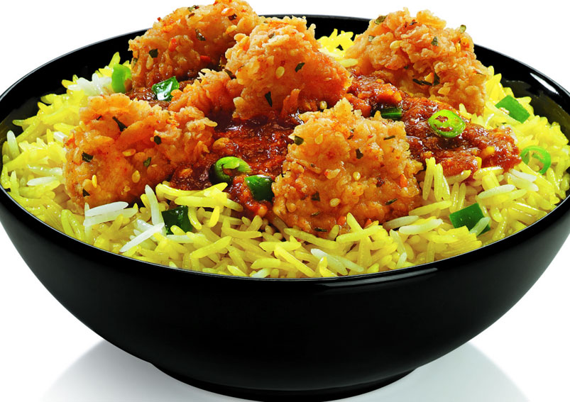 KFC Veg Rice Bowl Recipe