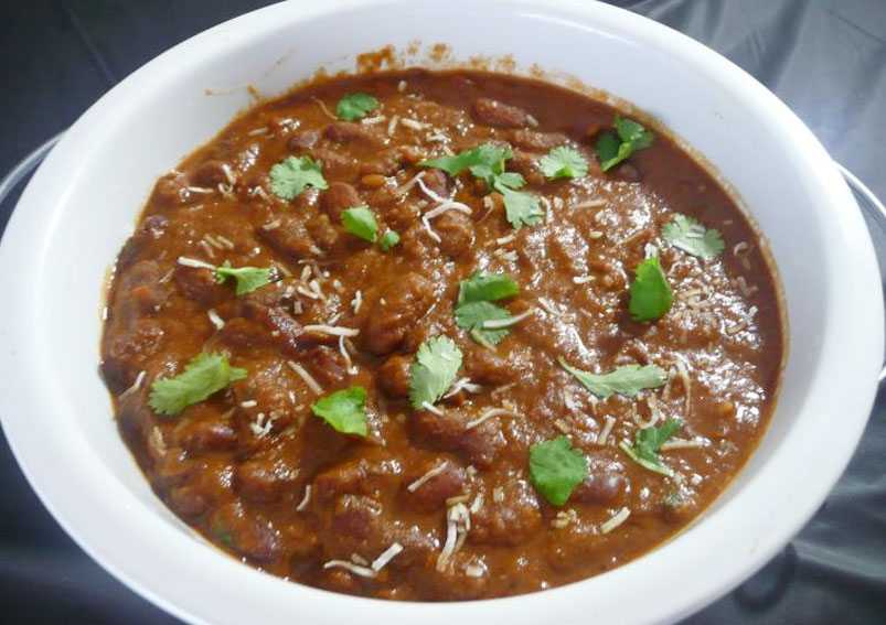 Kashmiri Rajma Masala Curry Recipe