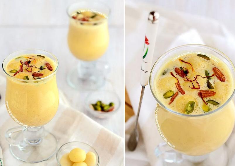 Delicious Kesar Pista Lassi Recipe