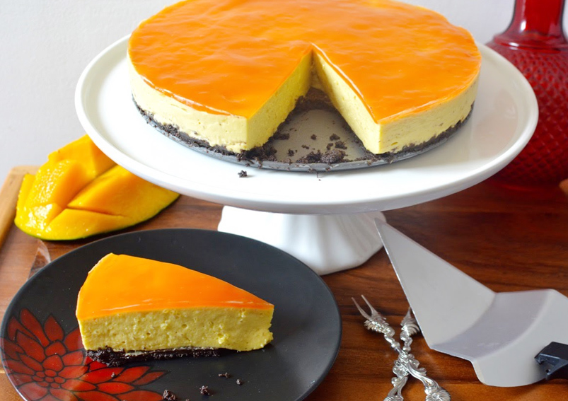 Mango Cheese Pie Recipe
