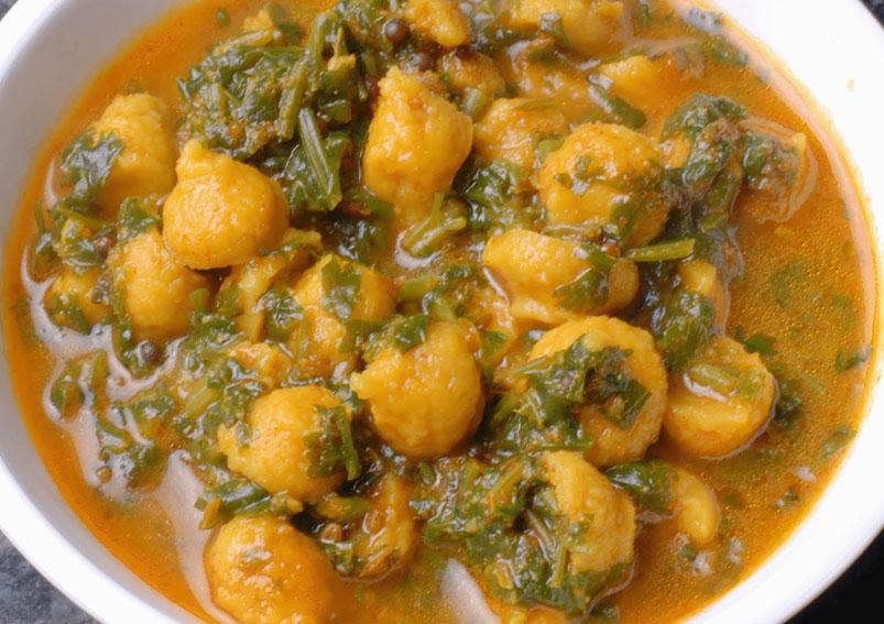 Rajasthan Special Mangodi Ka Sabzi Recipe