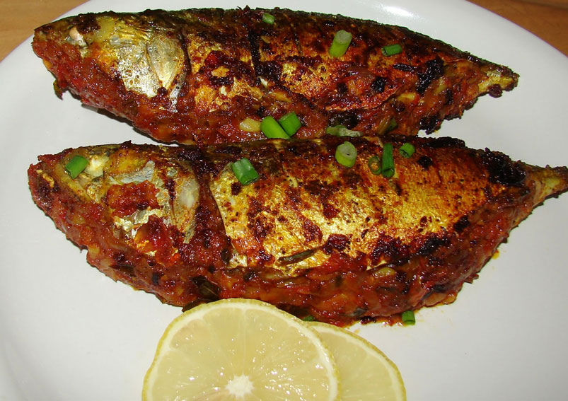 South Indian Style Masala Fish Fry